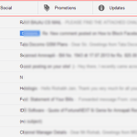 How to Hide the New Primary, Social, Promotions Tabs in Gmail
