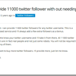 Recommended Method to Get 10,000+ Twitter Followers for Free within 24 Hours