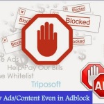 Display Ad/Contents while using Adblock In Blogger