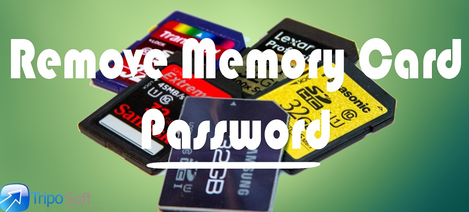How to Remove Memory Card password