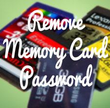 Unlock Memory card password