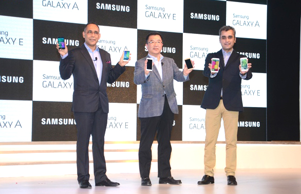 Samsung launches Galaxy E7, E5, A5 and A3 Phone in India !