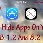 How To Hide IOS 8 Apps {Easiest Way}