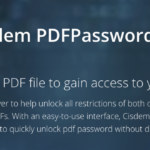 Cisdem PDF password remover 3.5.0 – Review