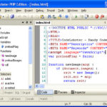 Codelobster PHP Edition Review – Free Portable IDE for PHP