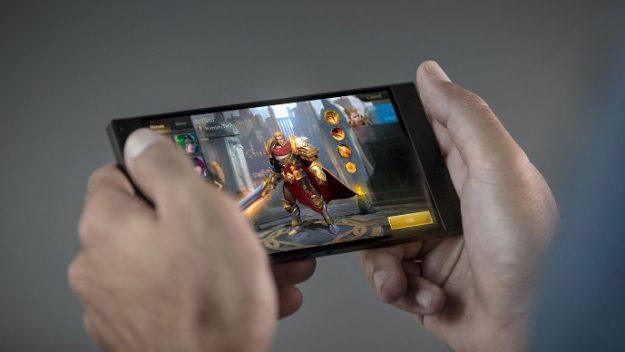 razor phone gaming
